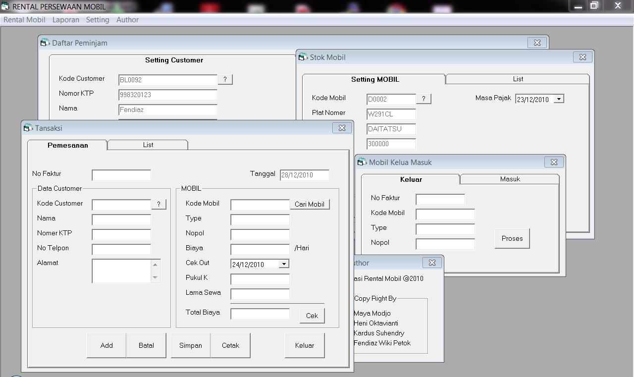 Contoh Laporan Visual Basic 6.0 - Mathieu Comp. Sci.